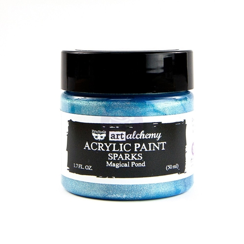 Prima Marketing SPARKS MAGICAL POND Art Alchemy Acrylic Paint 964092 Preview Image