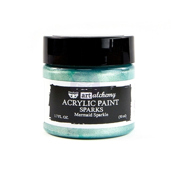 Prima Marketing SPARKS MERMAID SPARKLE Art Alchemy Acrylic Paint 964085