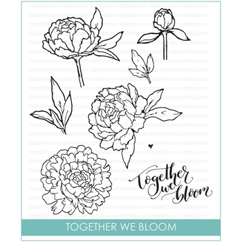 Studio Katia TOGETHER WE BLOOM Clear Stamps STKS018