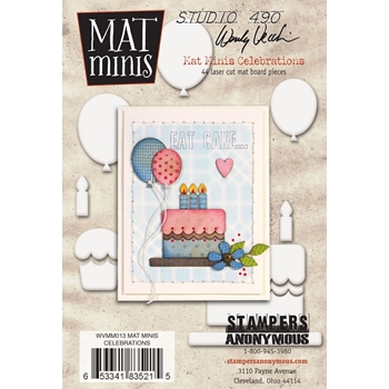 Wendy Vecchi Mat Minis CELEBRATIONS Studio 490 WVMM013