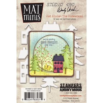 Wendy Vecchi Mat Minis THE HOMESTEAD Studio 490 WVMM012