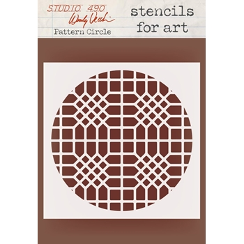 Wendy Vecchi Stencils For Art CIRCLE GRATE Studio 490 WVSFA052