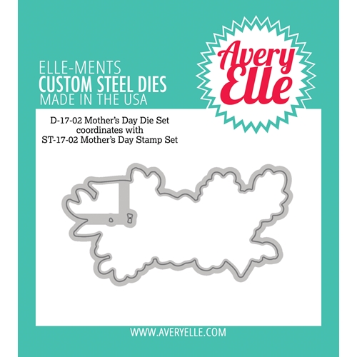 Avery Elle Steel Dies MOTHERS DAY Die Set D-17-02* Preview Image