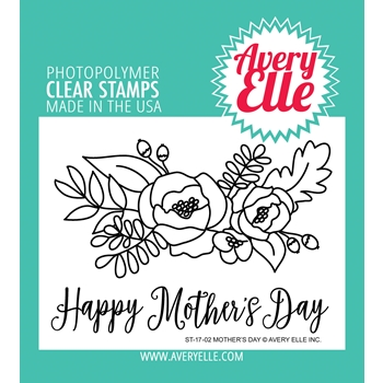 Avery Elle Clear Stamps MOTHERS DAY Set 024939