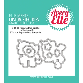 Avery Elle Steel Dies PEGASUS DUO Die Set 025073