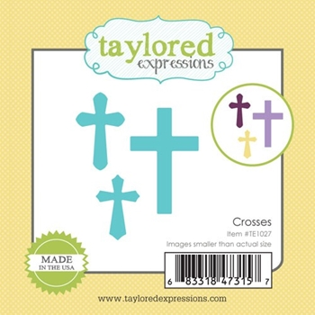 Taylored Expressions Little Bits CROSSES Die Set TE1027
