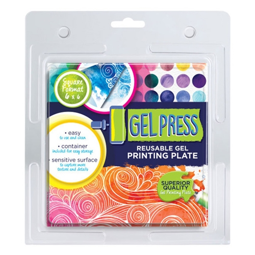 Gel Press 6 x 6 REUSABLE GEL PRINTING PLATE 10800 Preview Image