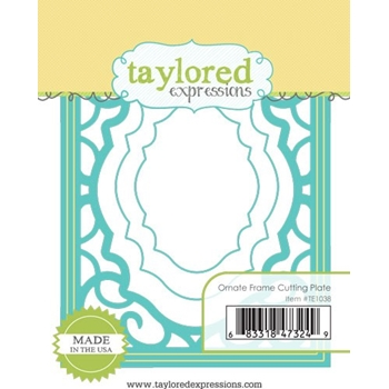 Taylored Expressions ORNATE FRAME Cutting Plate Die TE1038