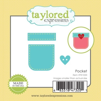 Taylored Expressions Little Bits POCKET Die Set TE1033