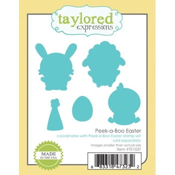Taylored Expressions PEEK A BOO EASTER Die Set TE1037