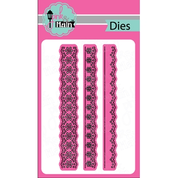 Pink and Main LACY BORDERS DIE Set