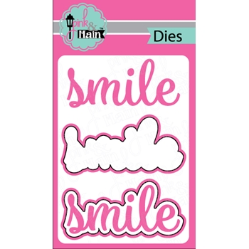 Pink and Main SMILE DIE Set