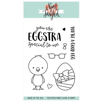 Neat and Tangled EGGSTRA SPECIAL Clear Stamp Set