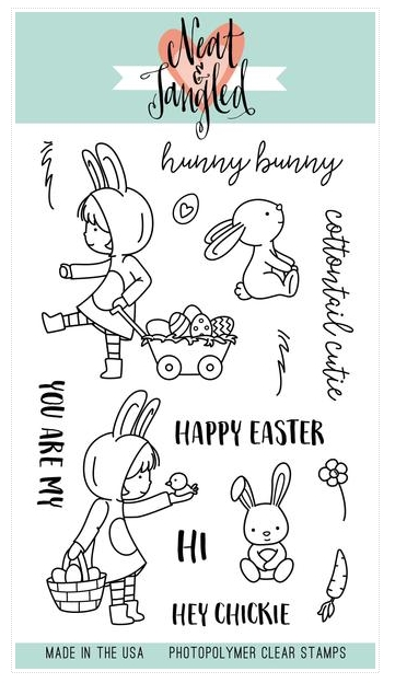 Neat and Tangled COTTONTAIL CUTIES Clear Stamp Set zoom image