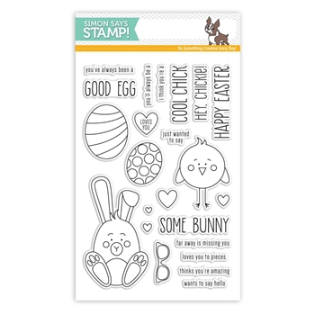 Simon Says Clear Stamps SOME BUNNY SSS101706 New Beginnings