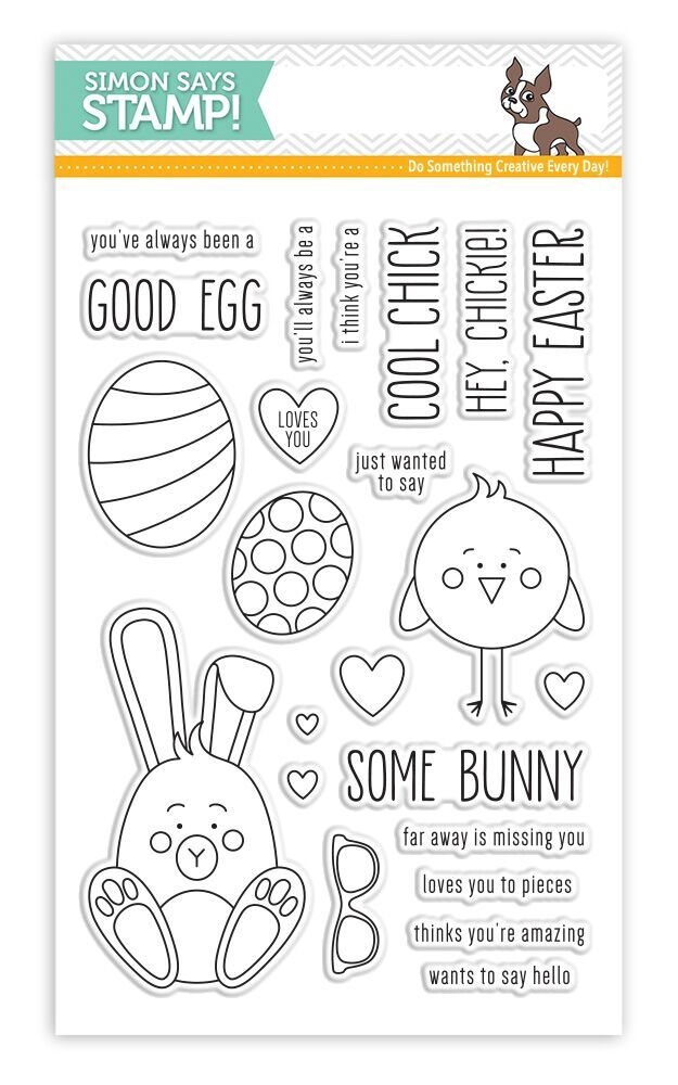 Simon Says Clear Stamps SOME BUNNY SSS101706 New Beginnings zoom image