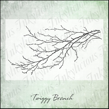 Inkylicious TWIGGY BRANCH Clear Stamps 830006