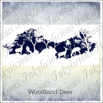 Inkylicious WOODLAND DEER Clear Stamps 830037
