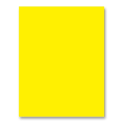 Simon Says Stamp Card Stock 100# BRIGHT YELLOW BY34 Preview Image