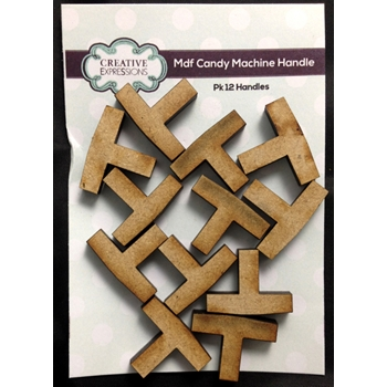 Creative Expressions CANDY MACHINE HANDLE 12 Pack CEMDFHANDLE