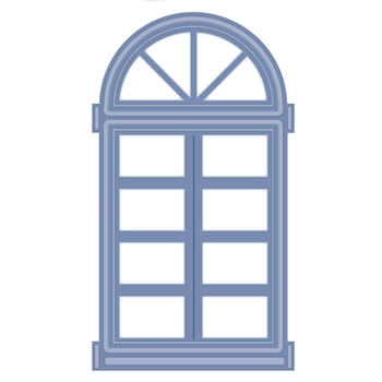 Creative Expressions ARCHED WINDOW OR DOOR Sue Wilson Kinetics Collection CED22001
