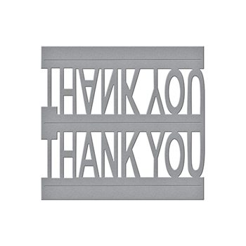 S3-247 Spellbinders THANK YOU POP-UP Celebrate the Day by Marisa Job Etched Dies