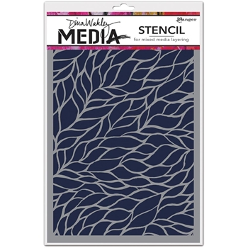 Dina Wakley VINEY Media Stencil MDS54467