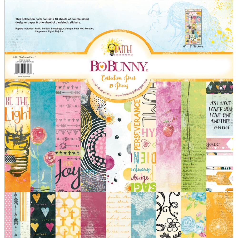 BoBunny 12 x 12 FAITH Collection Pack 21116923 zoom image