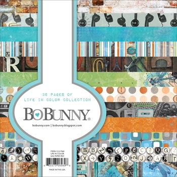 BoBunny 6 x 6 LIFE IN COLOR Paper Pad 21317969