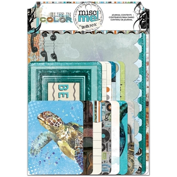 BoBunny LIFE IN COLOR Misc Me Journal Contents 21326971