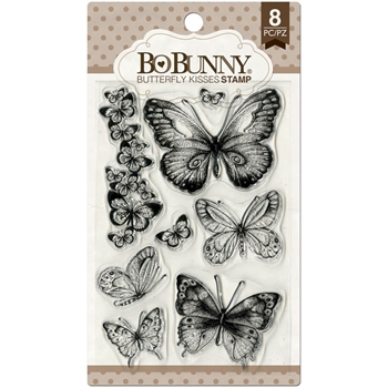 BoBunny BUTTERFLY KISSES Clear Stamps 12105027