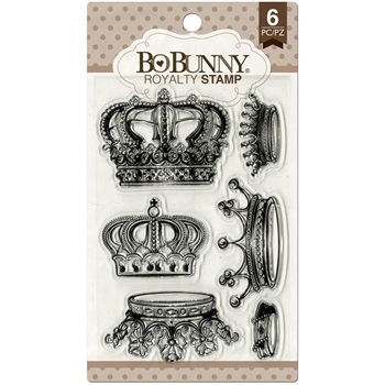 BoBunny ROYALTY Clear Stamps 12105040