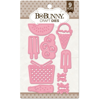 BoBunny SUMMER PICNIC Craft Dies 12839024