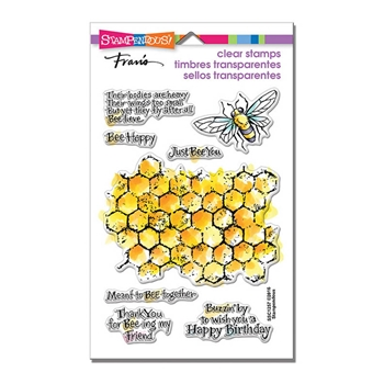 Stampendous Clear Stamps HONEYCOMB WISHES SSC1257