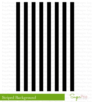 SugarPea Designs STRIPED BACKGROUND