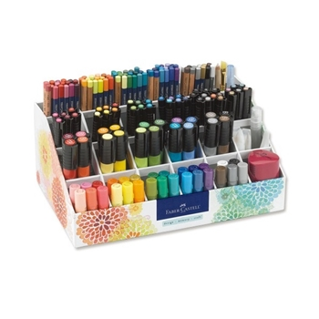 Faber-Castell 174 PIECE GIFT SET WITH CADDY 770309