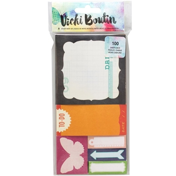 American Crafts Vicki Boutin STICKY NOTES Mixed Media 376849