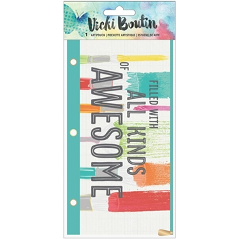 American Crafts Vicki Boutin ART POUCH Mixed Media 376860