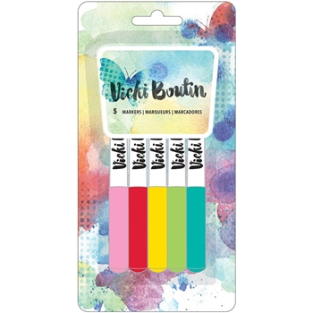 American Crafts Vicki Boutin COLOR Marker Set Mixed Media 376970