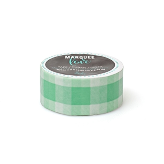 Heidi Swapp MINT GINGHAM Marquee Love Washi Tape 312779