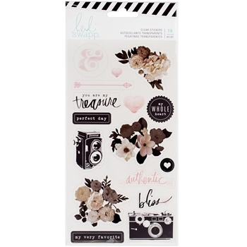 Heidi Swapp MAGNOLIA JANE Clear Stickers 313617