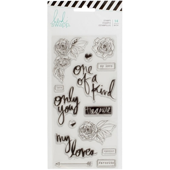 Heidi Swapp MAGNOLIA JANE Clear Stamps 313671