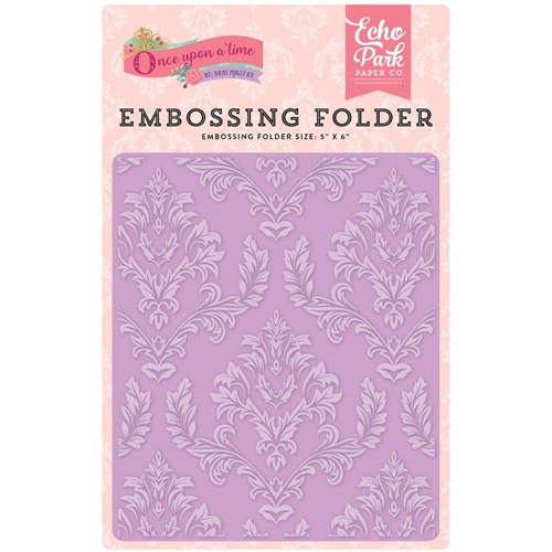 Echo Park ENCHANTED DAMASK Embossing Folder OUG122032 Preview Image