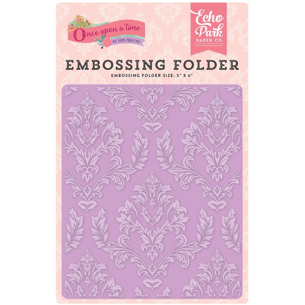 Echo Park ENCHANTED DAMASK Embossing Folder OUG122032 zoom image