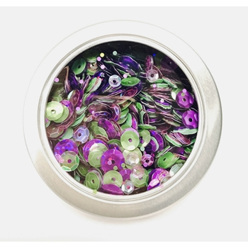 28 Lilac Lane VIOLET BLOSSOM Sequin Tin LL310