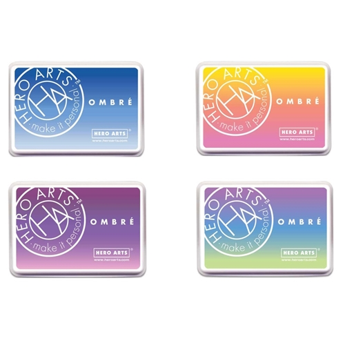 Hero Arts OMBRE SET OF 4 Ink Pads HAOMSET4 Preview Image
