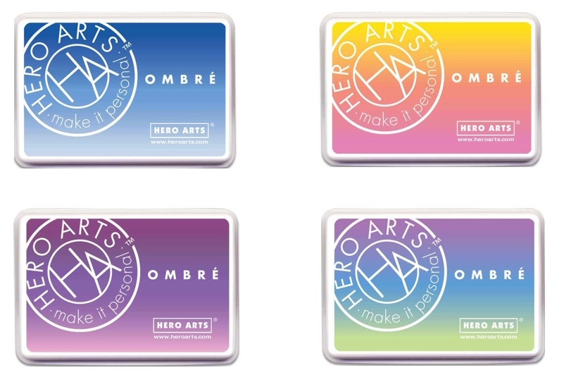 Hero Arts OMBRE SET OF 4 Ink Pads HAOMSET4 zoom image