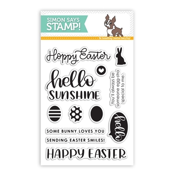 Simon Says Clear Stamps EASTER GREETINGS SSS101731