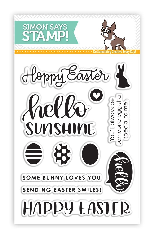 Simon Says Clear Stamps EASTER GREETINGS SSS101731 zoom image