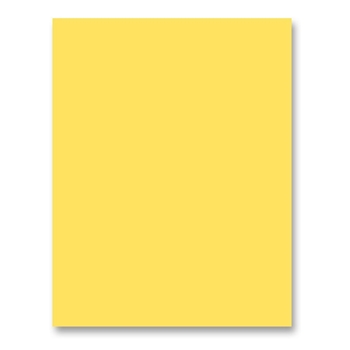 Simon Says Stamp Card Stock 100# BANANA Yellow B32